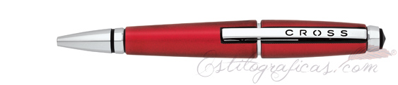 Roller Cross Edge rojo intenso y detalles cromados cerrado