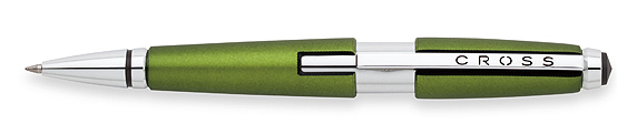 Roller Cross Edge resina verde octano y detalles cromados abierto