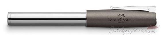 Rollerball Faber-Castell Loom Metallic Grey cerrado