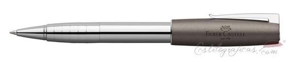 Roller Faber-Castell Loom Gris Metálico 149104