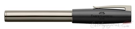 Rollerball Faber-Castell Loom Gunmetal Brillante 149245 cerrado