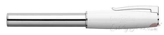 Rollerball Faber-Castell Loom Piano Blanco 149275 cerrado