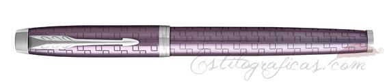 Roller Parker IM Premium Violeta Oscuro CT cerrado