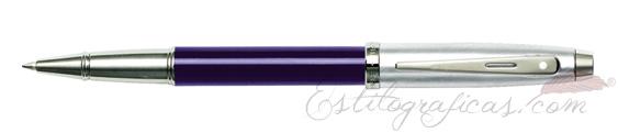 Rollerball Sheaffer Gift 100 Azul y Cromo 9308-1