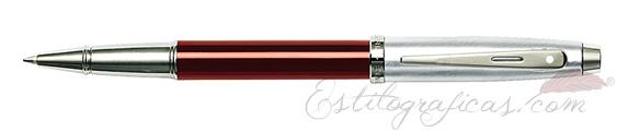 Rollerball Sheaffer Gift 100 Rojo y Cromo 9307-1