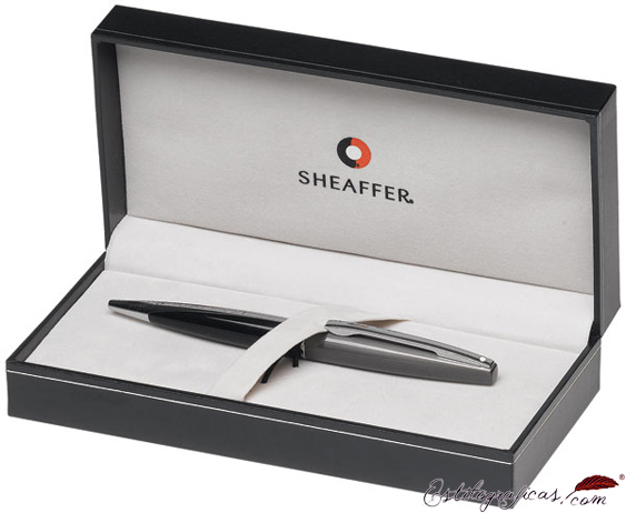 Estuche de bolígrafo Sheaffer Taranis gris