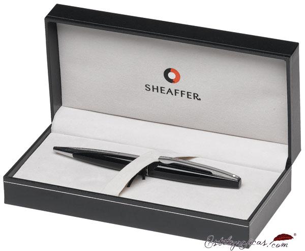 Estuche de plumas estilográficas Sheaffer Taranis, pieza negra