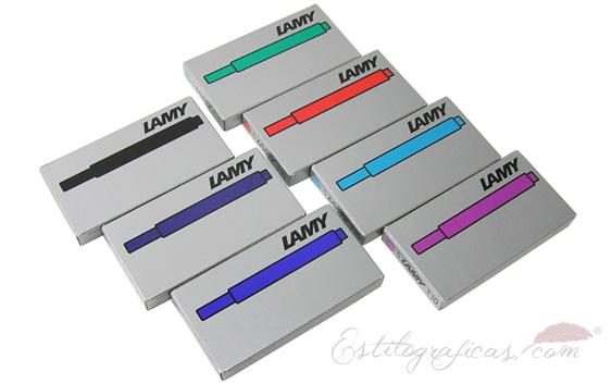 Cartuchos de tinta Lamy T10