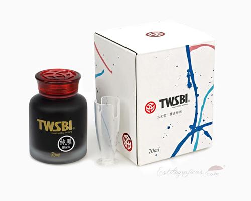 Tintero Twsbi con caja de presentación