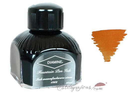 Tintero Diamine Autumn Oak 80 ml.