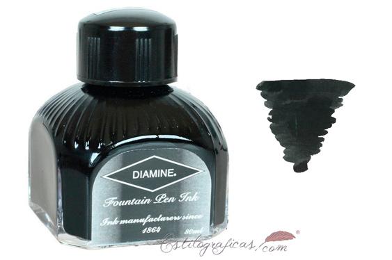 Tintero Diamine Graphite 80 ml.
