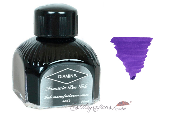Tintero Diamine Majestic Purple 80 ml.