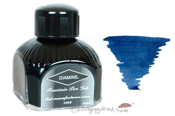Tintero Diamine Prussian Blue, azul de Prusia