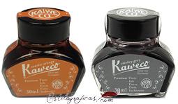 Tinteros Kaweco Gris y Naranja