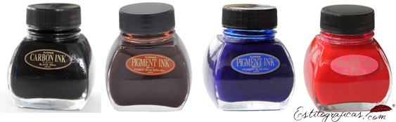Tinteros Platinum de tinta pigmentada INKG-1500