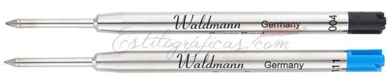 Recambios de bolígrafo Waldmann modelo 0110 y 0111