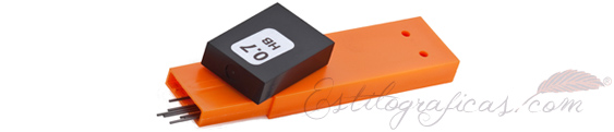 Caja de 12 minas de grafito para portaminas Waldmann 0121 y 0122